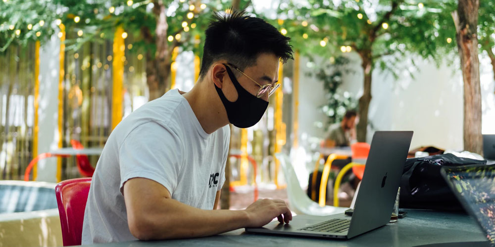 Where can I find sustainable design masks?
